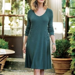New Soft Surroundings Womans Dress Sz Petite X-Lar